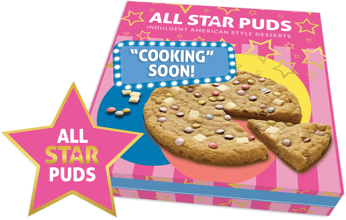 All star puds packaging